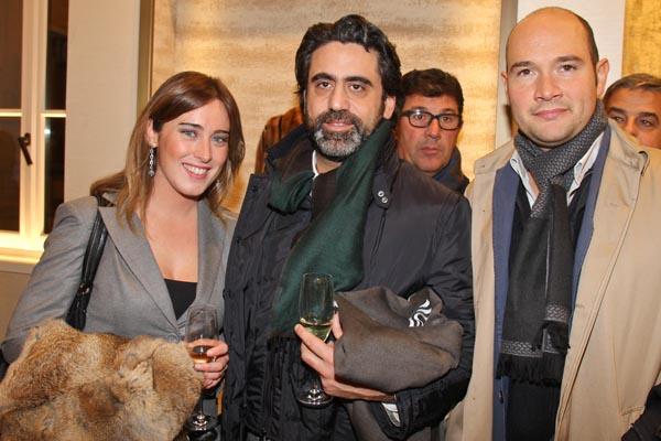 Maria Elena Boschi, Francesco Bonifazi, Pablo Tarantino