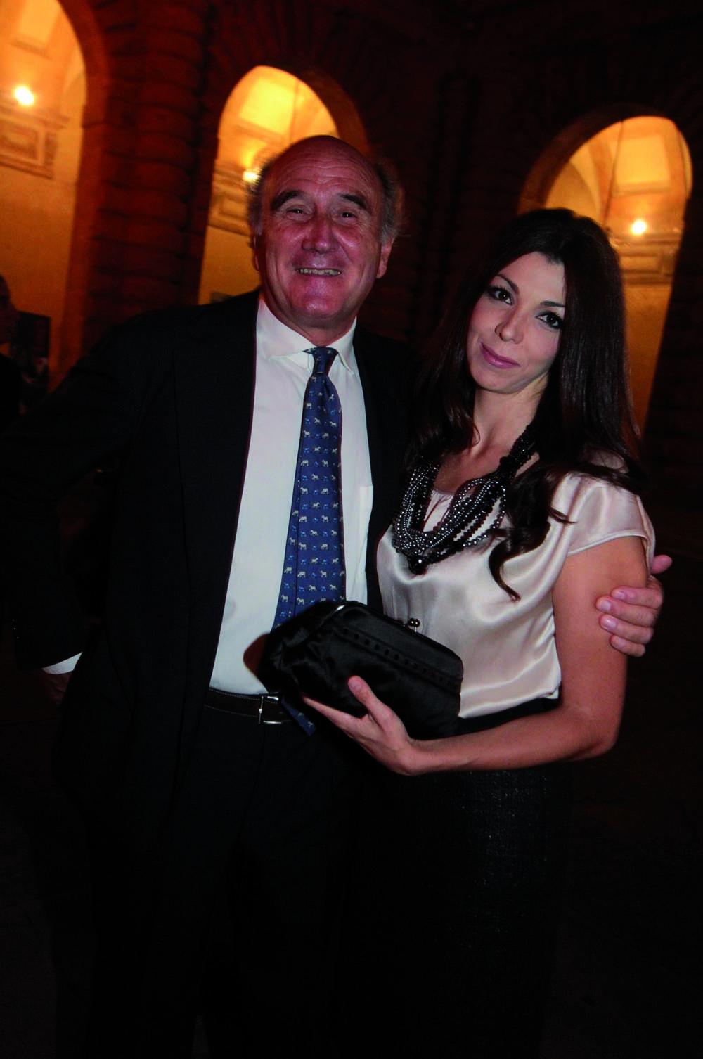 Pressphoto,Firenze- Palazzo Pitti- Festa di presentazione della rivista-  Susanna Alberghini, Enrico Ciani