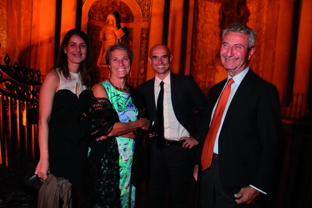 Pressphoto,Firenze- Palazzo Pitti- Festa di presentazione della rivista- Rita Cammelli, Paola e Alberto Pecci, Marco Moretti