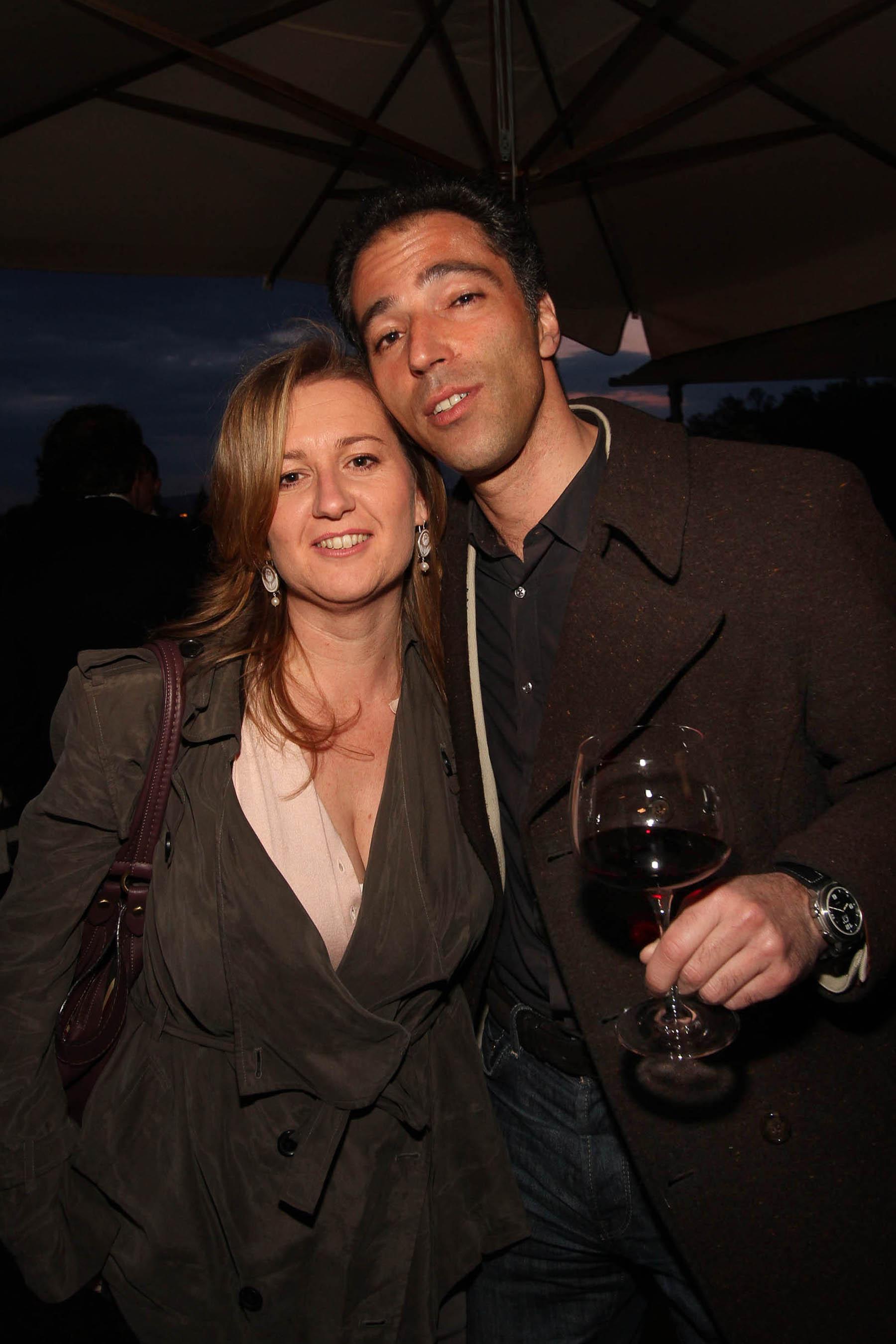 PRESSPHOTO Firenze, festa Firenze Magazine. Nella foto Michele Jommi e Lucrezia Abrami