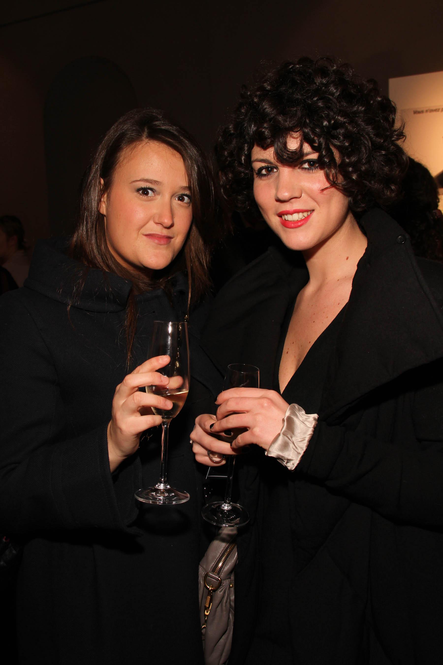 PRESSPHOTO Firenze, festa Firenze Magazine #13, For Gallery. Nella foto Sabrina Bozzoni e Teresa Nesi