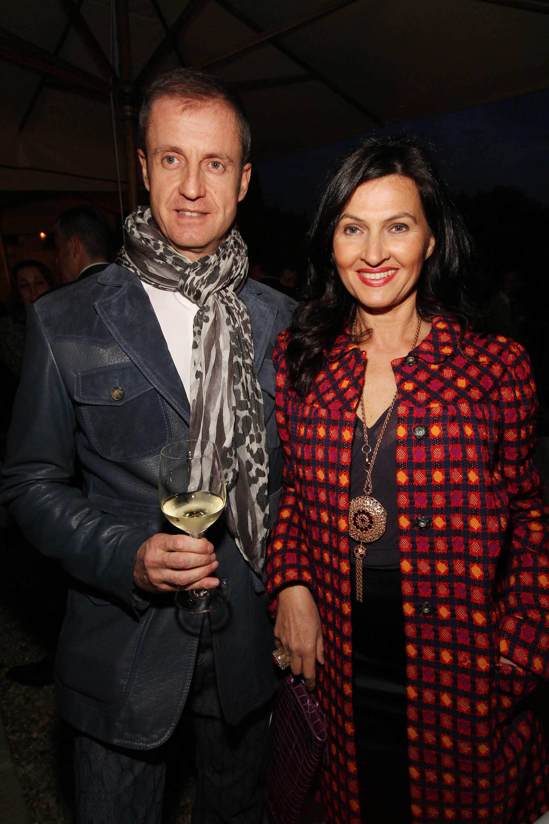 PRESSPHOTO Firenze, festa Firenze Magazine. Nella foto Eugenio Virgillito e Paola Baggiani