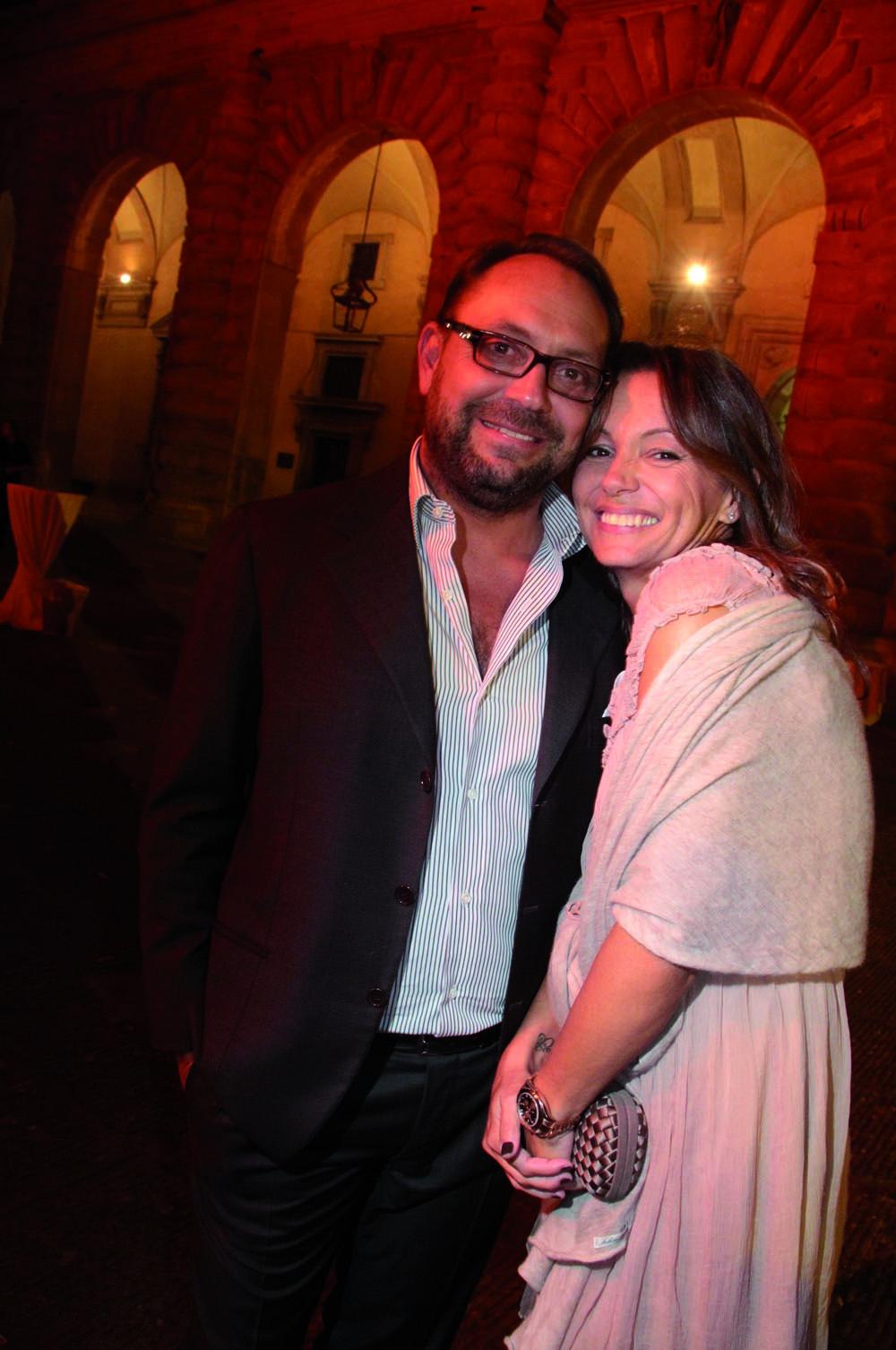 Pressphoto,Firenze- Palazzo Pitti- Festa di presentazione della rivista- Riccardo e Cristina Bacarelli