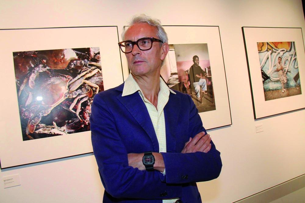 PRESSPHOTO Firenze, festa Firenze Magazine al museo Alinari. Nella foto Agostino Poletto