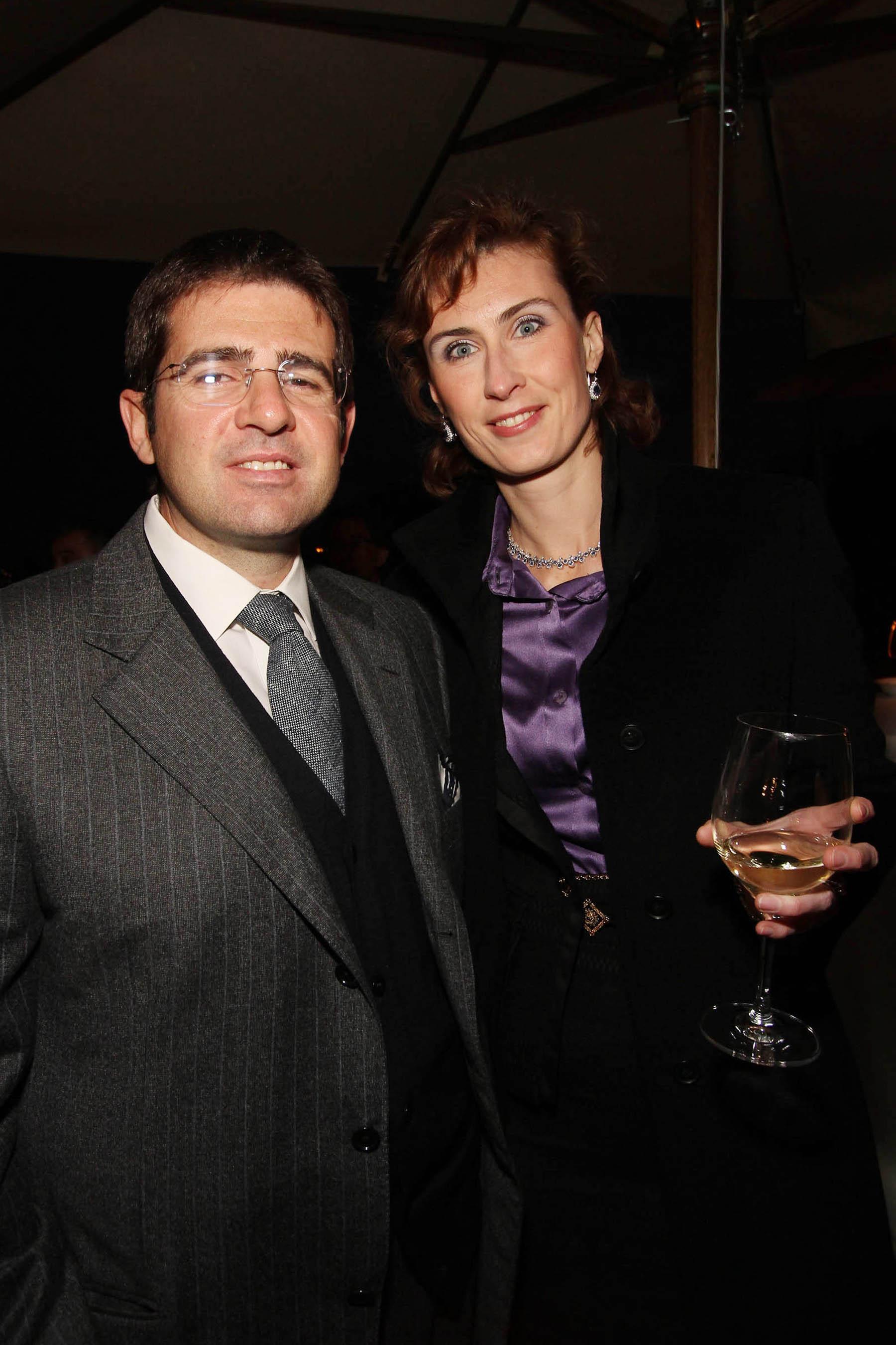 PRESSPHOTO Firenze, festa Firenze Magazine. Nella foto Cesare e Olga Peretti
