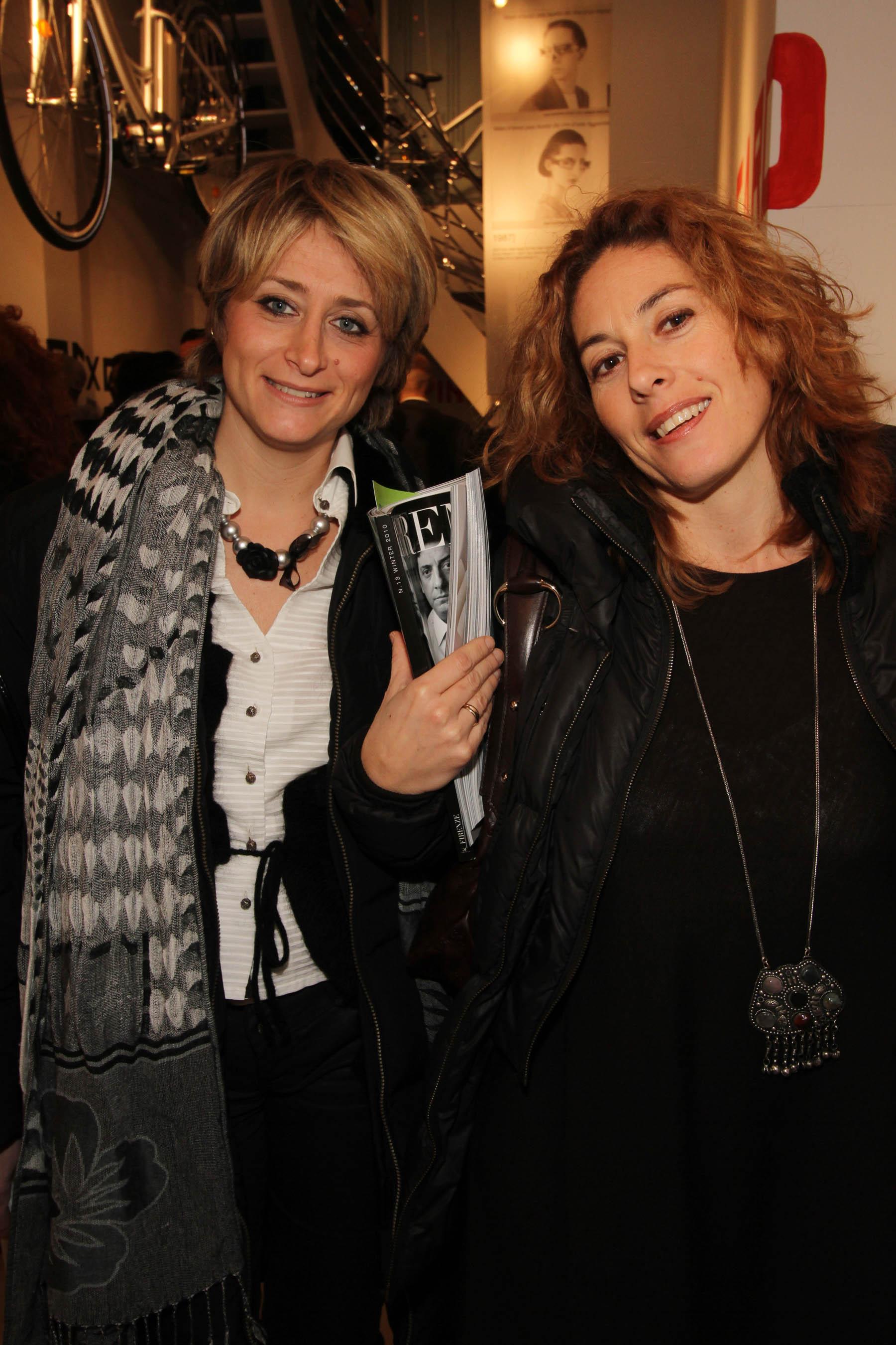 PRESSPHOTO Firenze, festa Firenze Magazine #13, For Gallery. Nella foto Sandra Salvato e Giuliana Dini