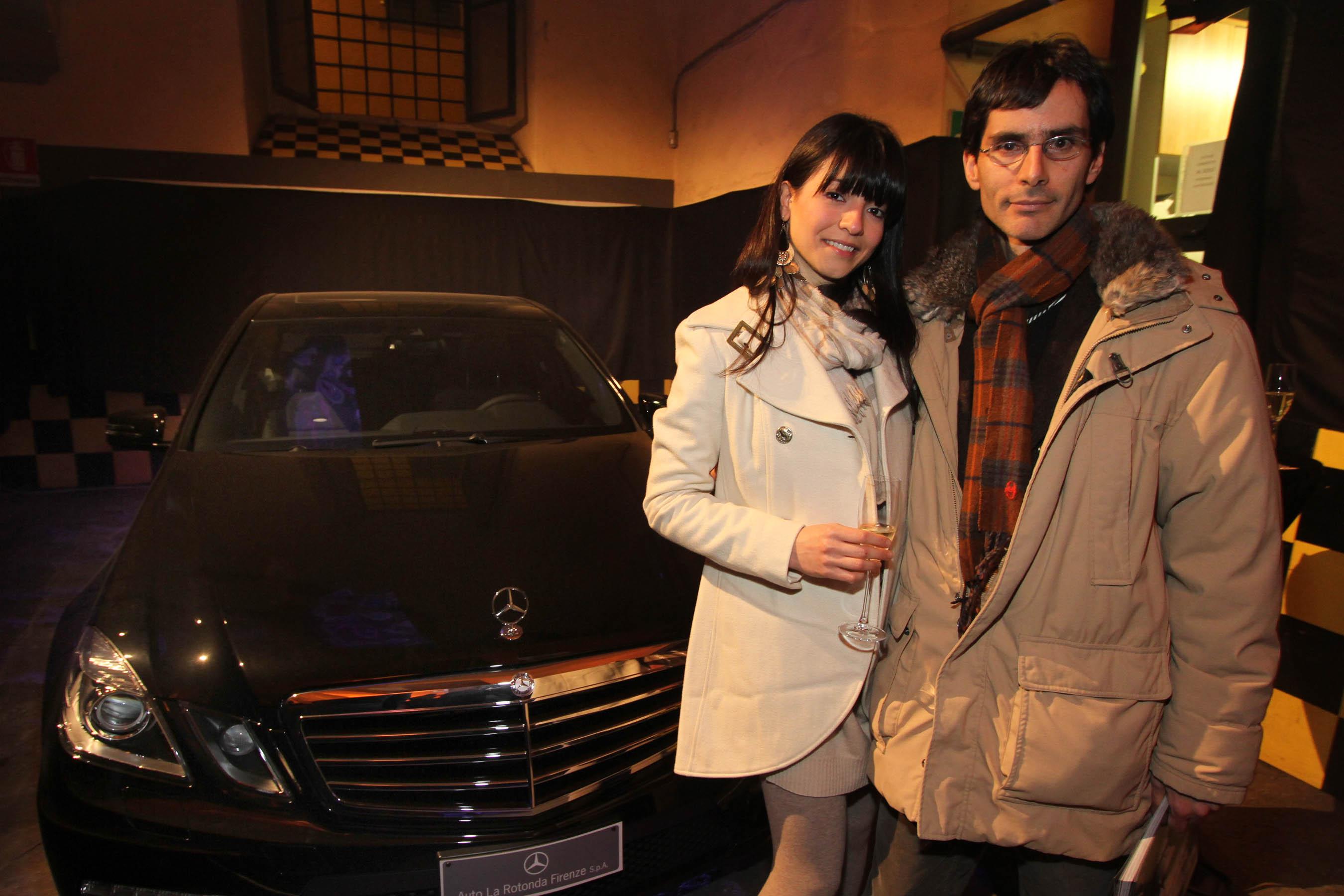 PRESSPHOTO Firenze, festa Firenze Magazine #13, For Gallery. Nella foto Vanni Bertini e Nazli Beigi