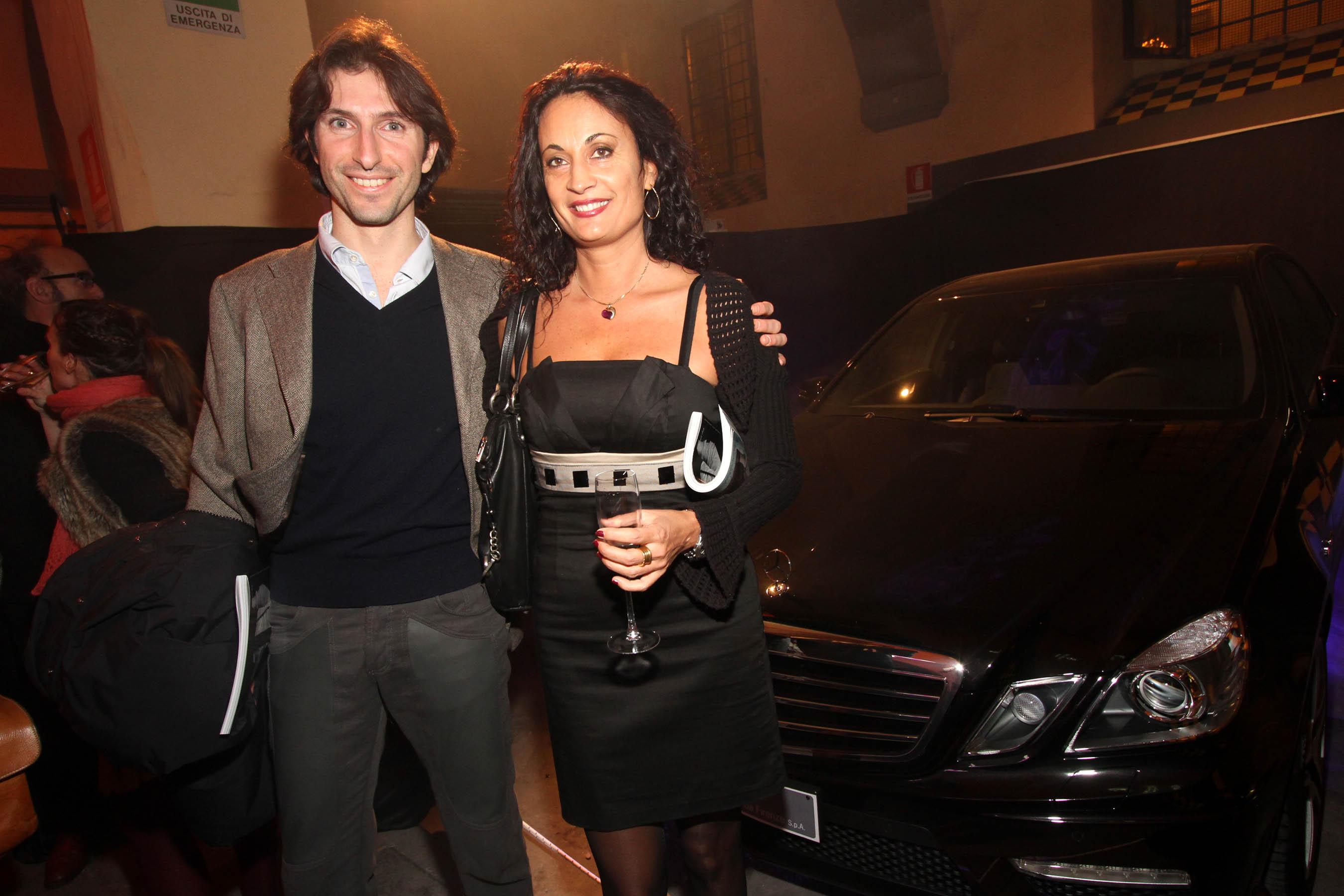 PRESSPHOTO Firenze, festa Firenze Magazine #13, For Gallery. Nella foto Roberta Baldi e Giuseppe Cacciola