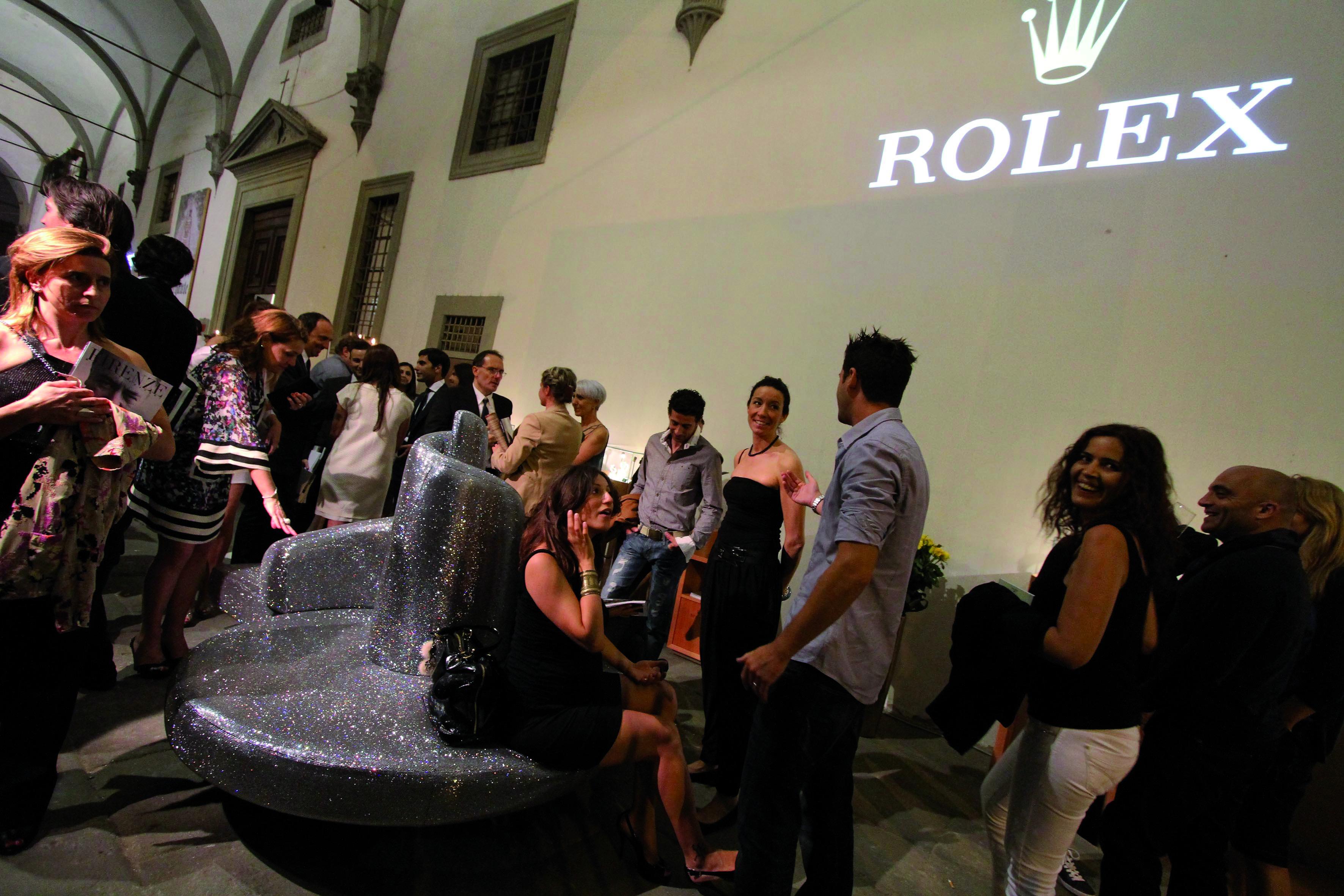 PRESSPHOTO Firenze, festa Firenze Magazine al museo Alinari. Nella foto