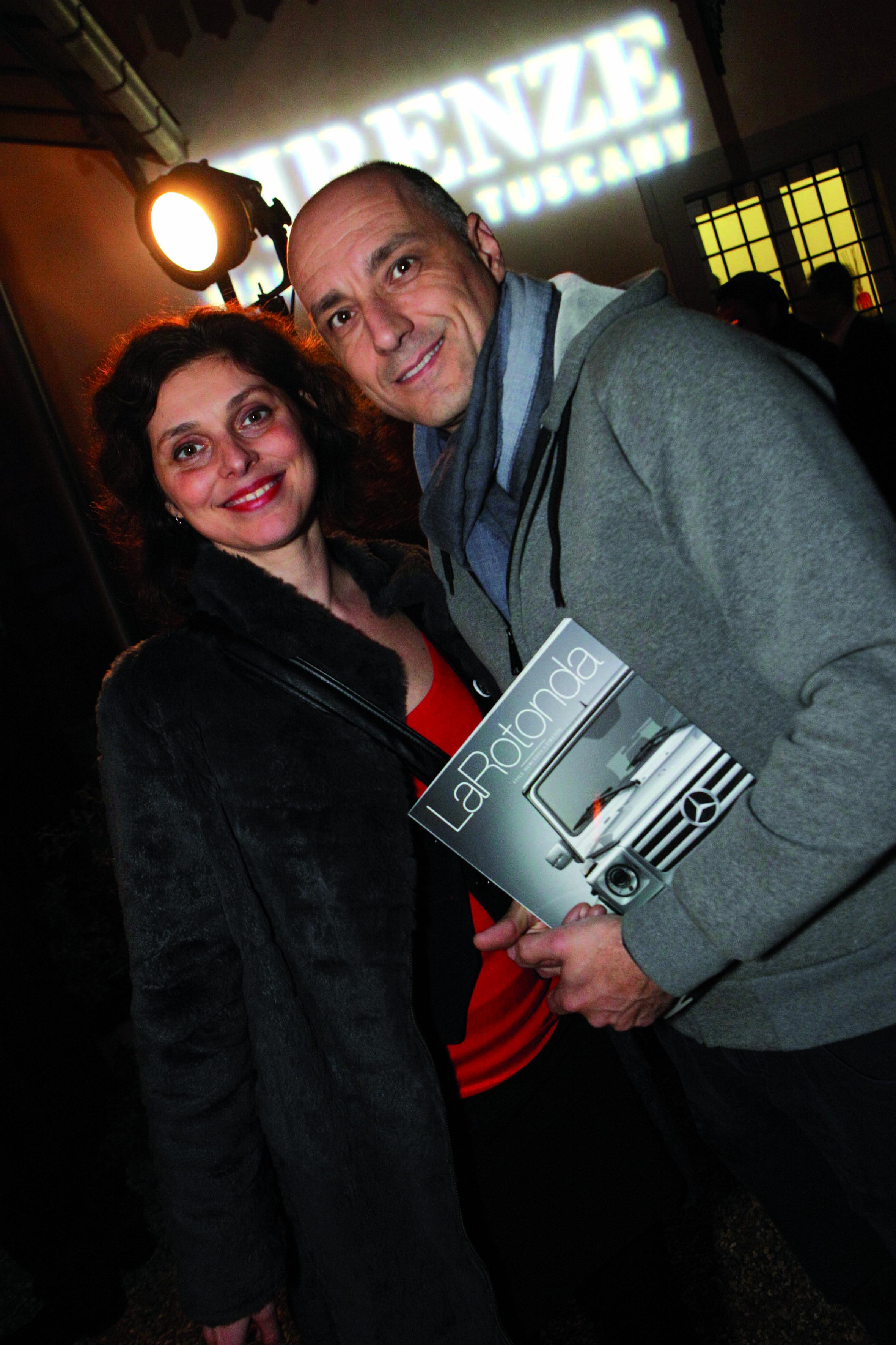Pressphoto,Firenze Villa Bardini Festa Firenze Magazine.nella foto: Marta Lodi Alessandro Moggi