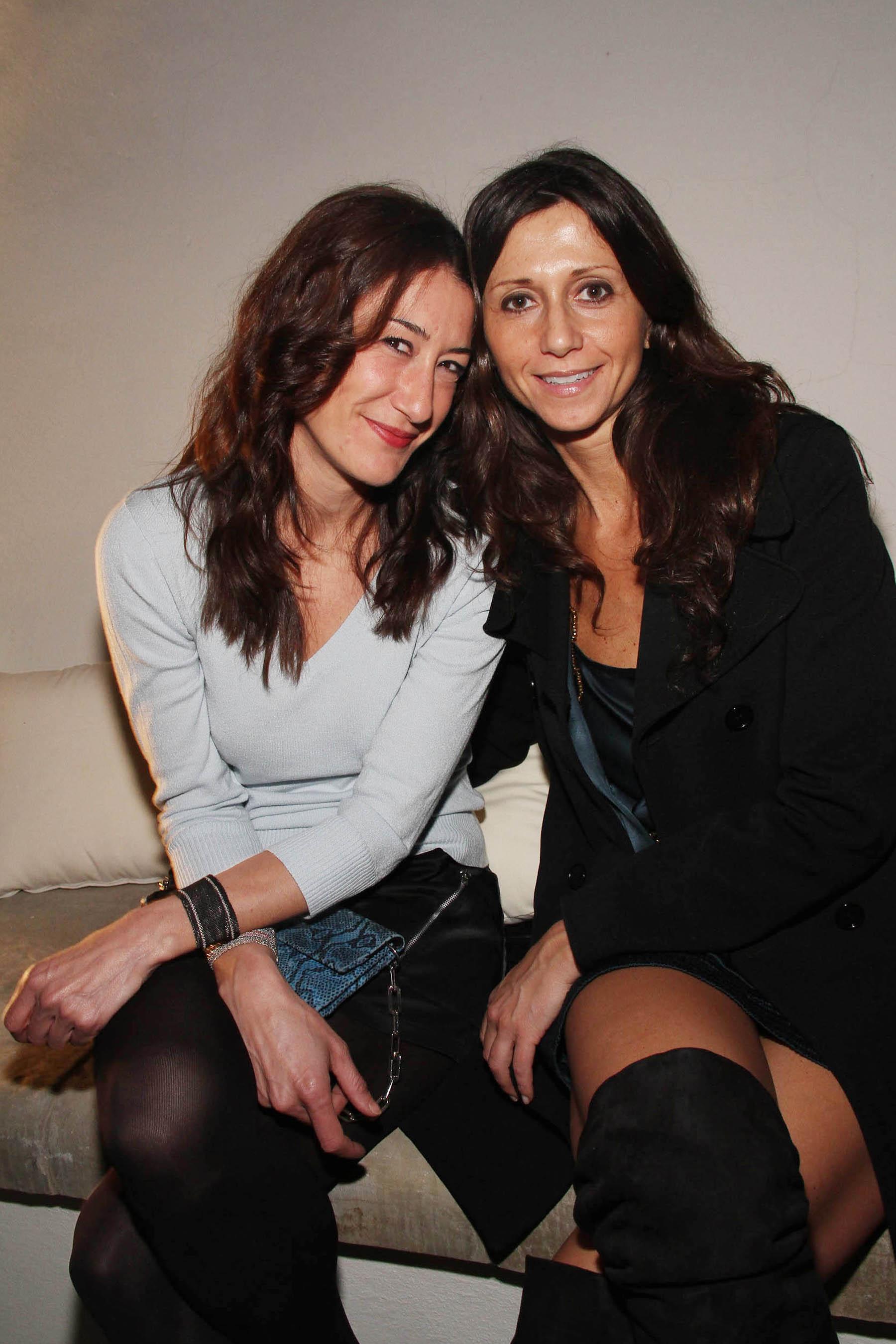 PRESSPHOTO Firenze, festa Firenze Magazine. Nella foto Simona Chiesi e Giulia Leone