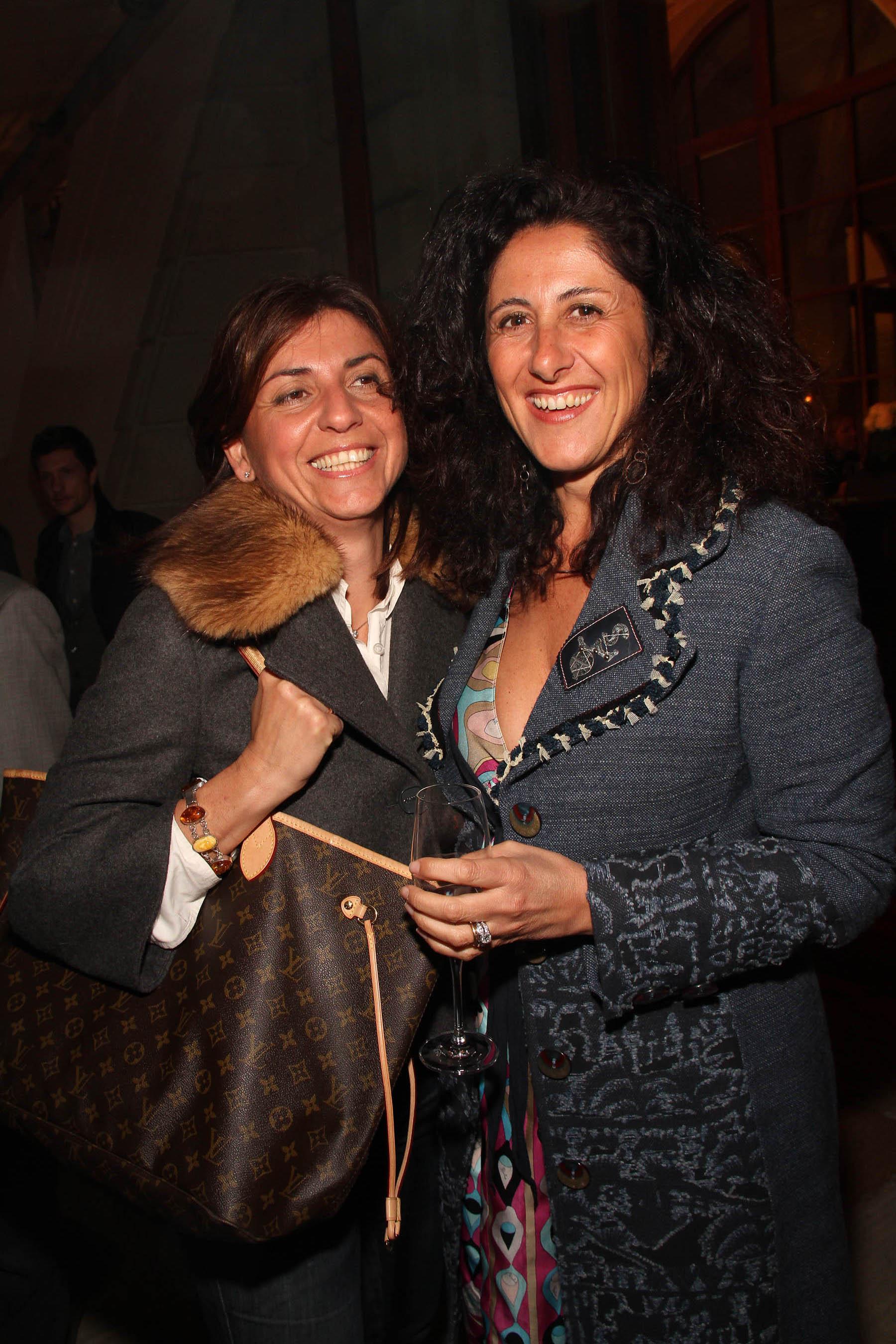 PRESSPHOTO Firenze, festa Firenze Magazine. Nella foto Laura Negri e Daniela Chiesi