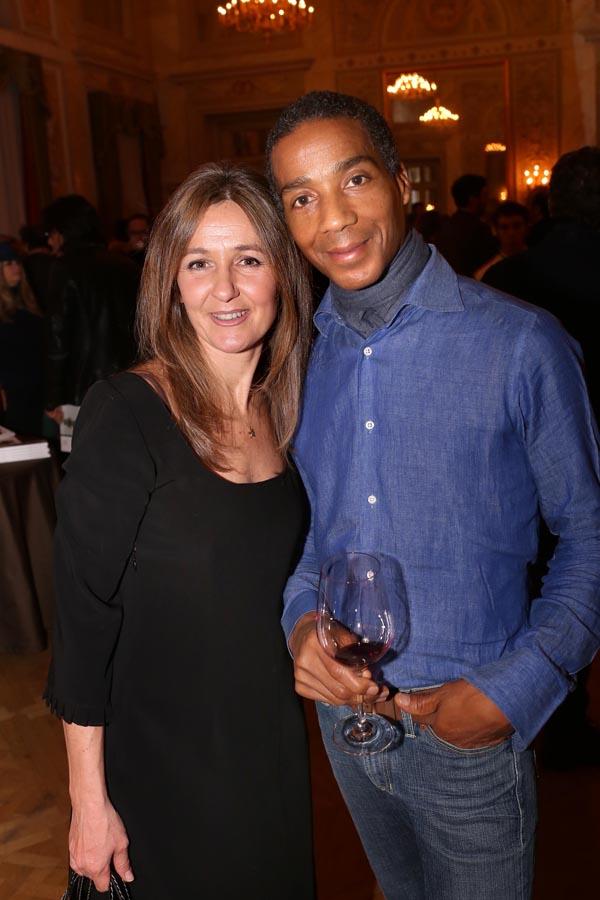 Sandra Montelisciani e Dijon Carew