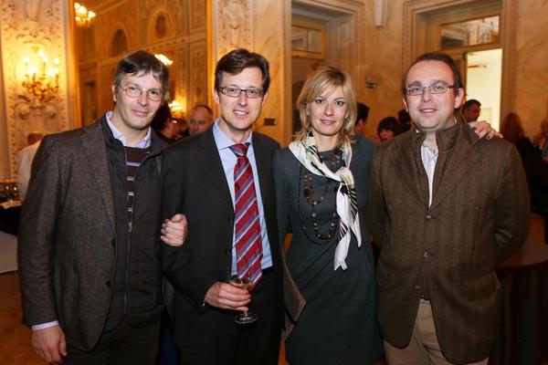 Francesco Nocentini, Lorenzo Morosi,  Cinzia Trapani, Alberto Pancani