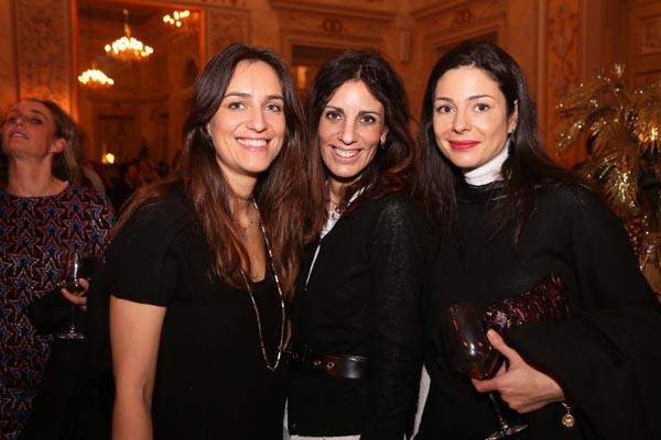 Sara Parigi Bini, Carlotta Lana,  Lisa Godi