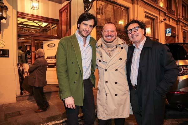 Alex Lana, Michele Guidi e Gaetano Sallorenzo