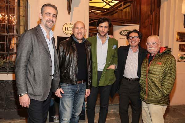 Matteo Parigi Bini, Ori Kafri, Alex Vittorio Lana, Gaetano Sallorenzo, Gianni Mercatali