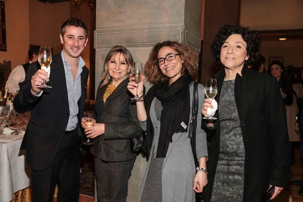 Steve Vella, Laura Lodigiani, Rossella Poggesi, Lucia Casini