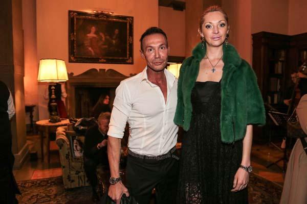 Riccardo Formigli e Anastasia Rogozhkina