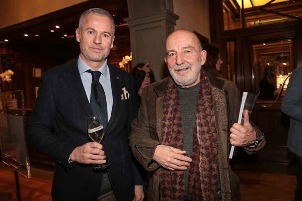 Paolo Poli e Giuliano Mazzuoli