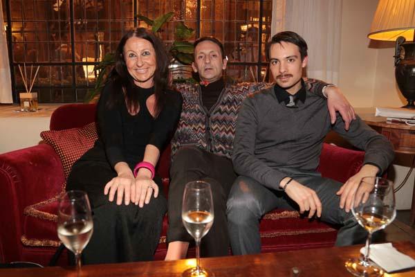 Paola Del Santo, Gianni Cesari, Guido Marcon