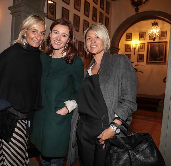 Patrizia Panchetti, Susanna Torrigiani, Sara Bassilichi