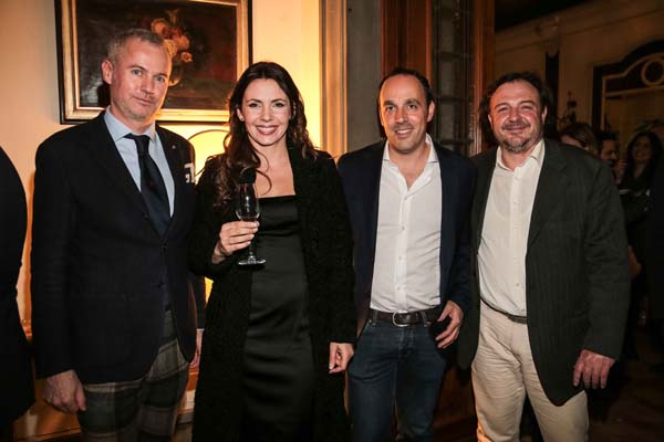 Paolo Poli, Filippo and Barbara Freschi, Michele Vagagginiì