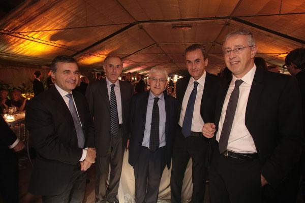 Lorenzo Stanghellini, Aldo Calvani, Sergio Paparo, Gino Mazzi, Jacopo Sodi