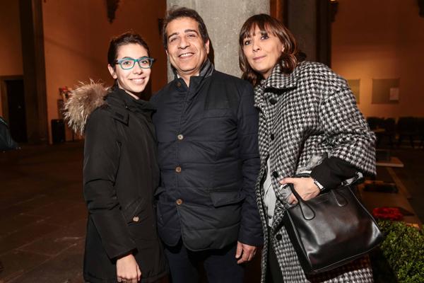 Catia Daviddi, Mauro and Alesandra Seu