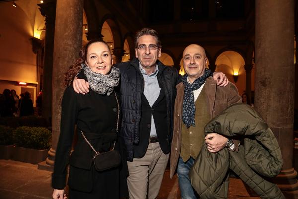 Barbara Arena, Roberto D'Alessio, Berto Mancini