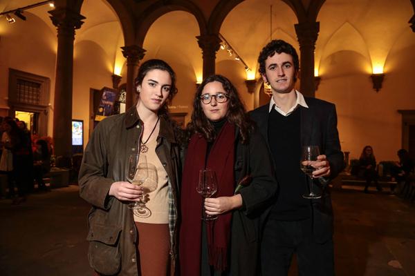 Teodora Pampaloni, Flavia Poccianti, Roberto Pampaloni