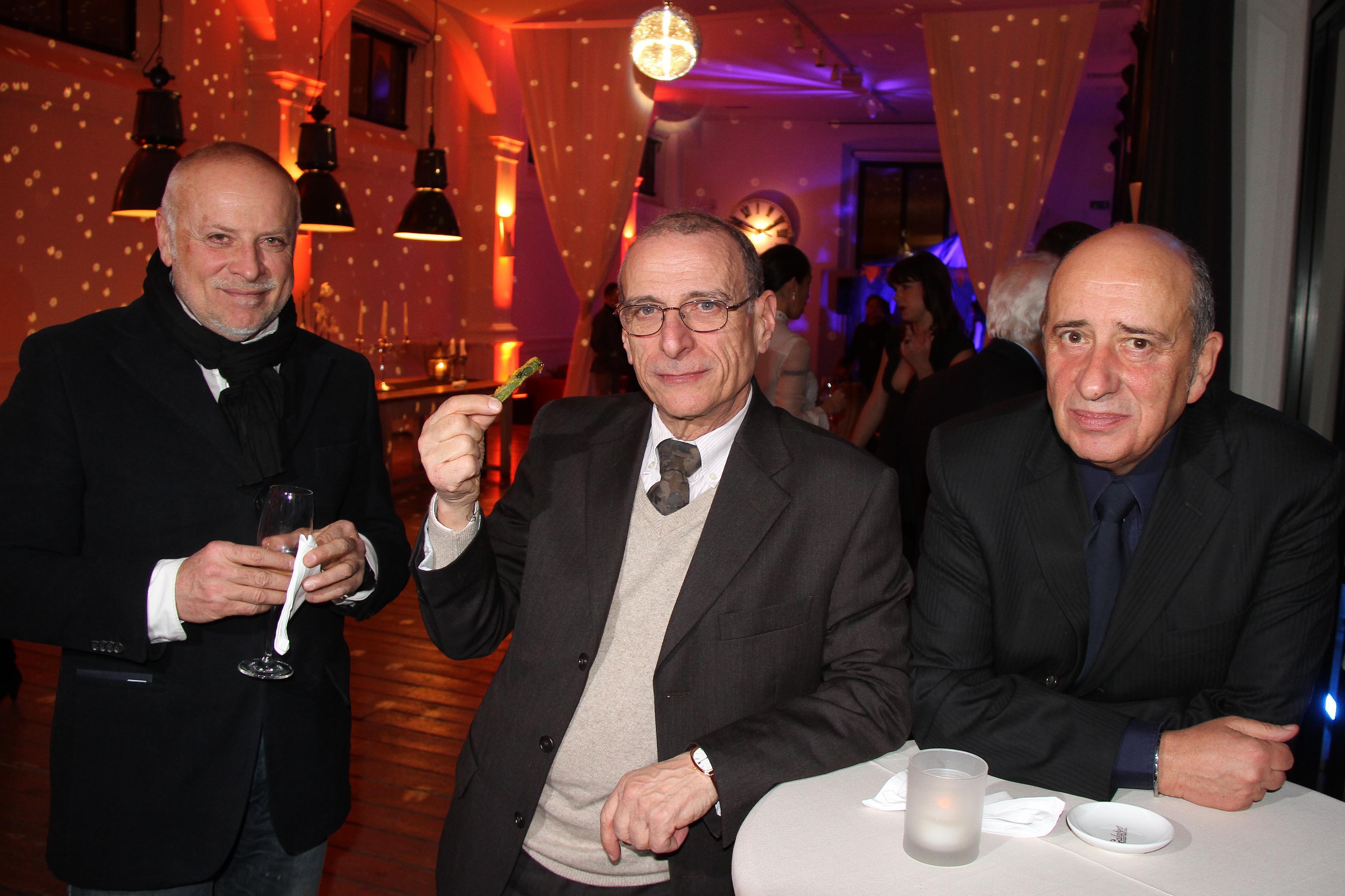 PRESSPHOTO  Firenze Magazine, serata ATT:  Antonio Bugatti, Daniele Massimo e Piero Rubbioli
