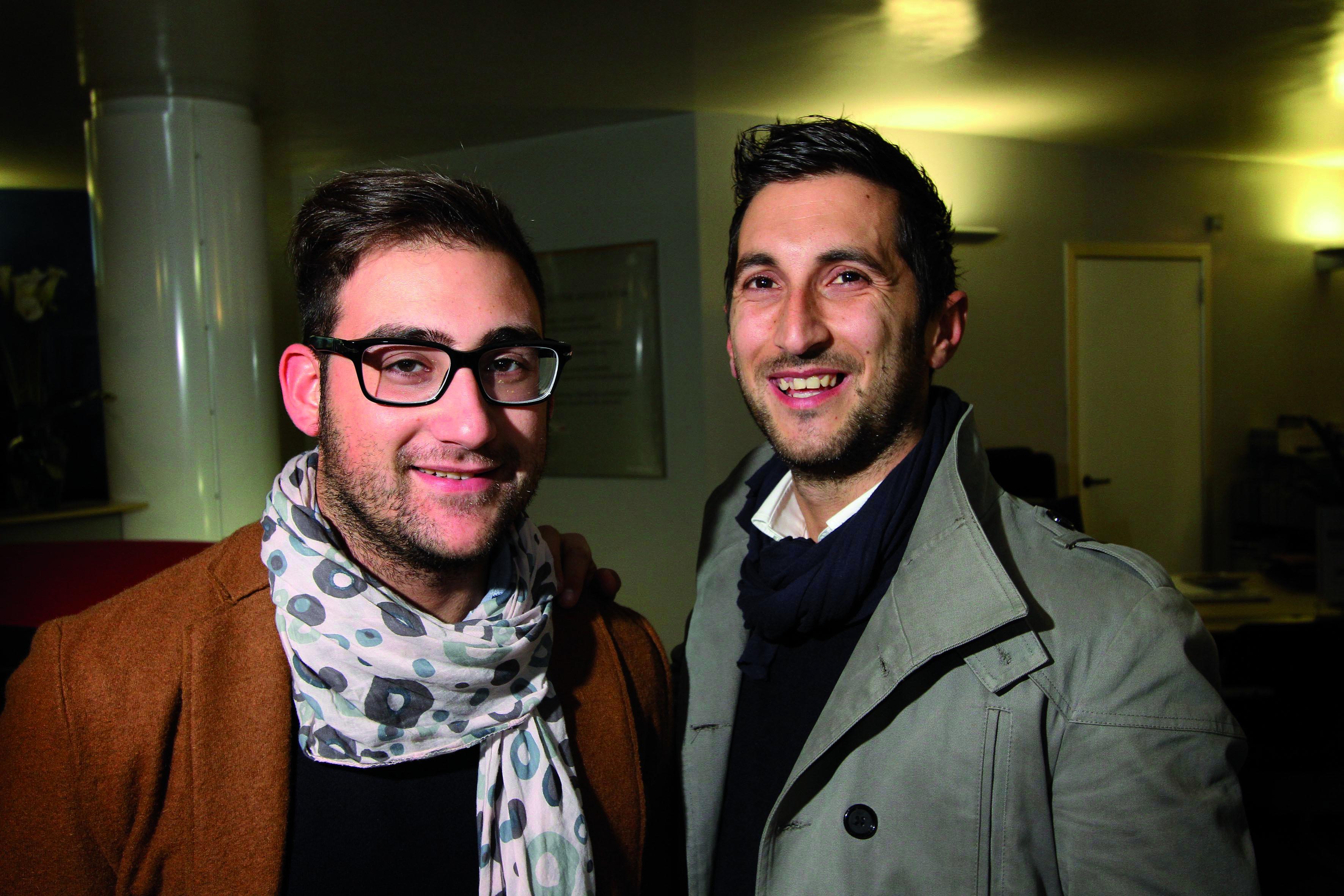 PRESSPHOTO  Firenze Magazine, La Rotonda via Giotto, evento Mercedes: Paolo Menci e Matteo Leggio