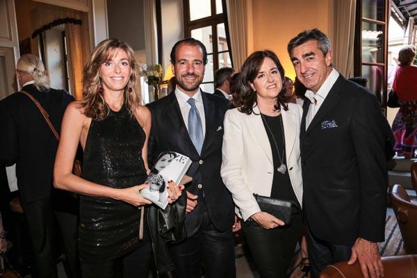 Riccardo e Dalila Maccolini, Isabella e Giuseppe Caglia