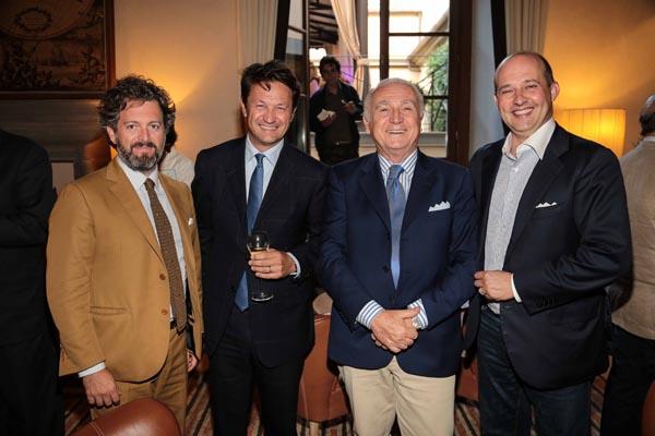 Giacomo Bei, Giovanni Belloni, Massimo Ruffilli e Niccolò Manetti