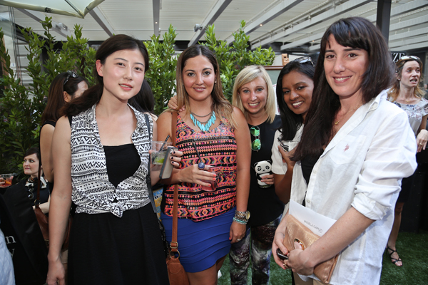 Aniyah Shz, Christina de la Esprella, Charlotte De Baveye, Sharlene Rajkunar, Alice Collini