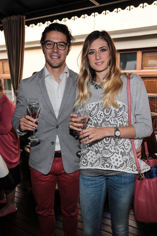 Niccolò Stefanelli e Vanessa Tofful