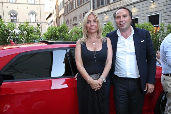 Elisabetta Carloni, Andrea Romei