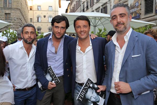 Lorenzo Segre, Alex Lana, Matteo Renzi, Matteo Parigi Bini
