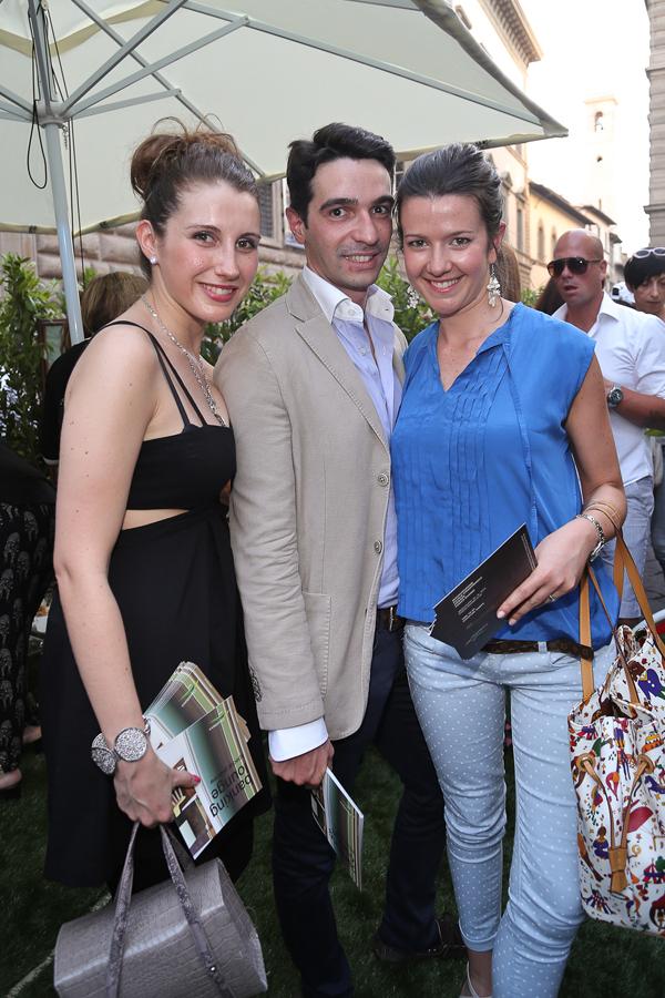 Giulia Corsi, Francesco Medici, Veronica Nebbiai