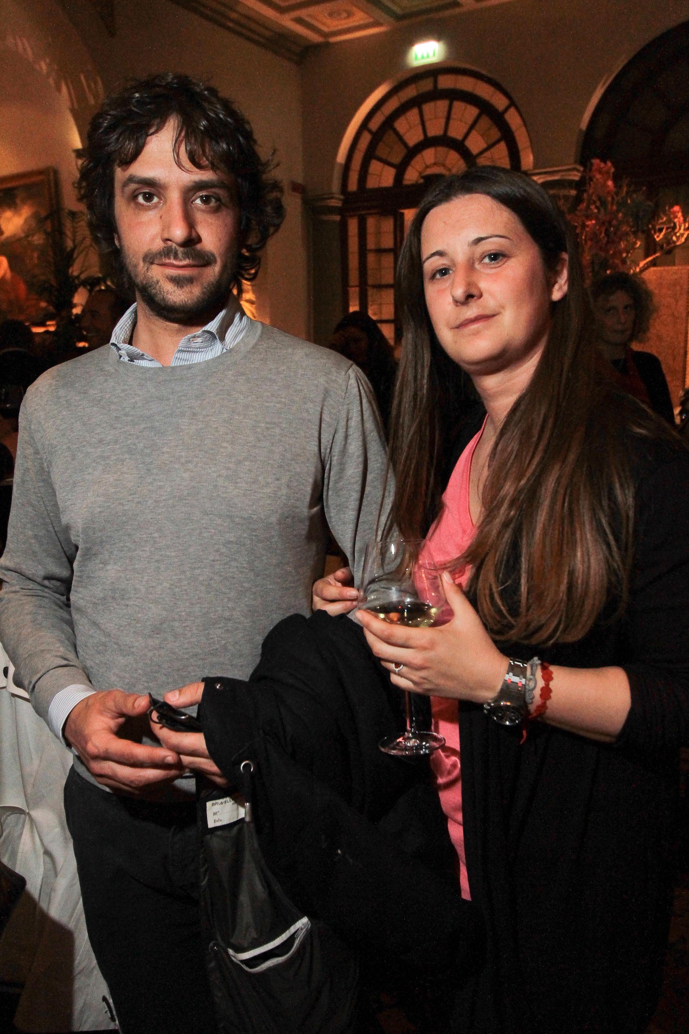 PRESSPHOTO Firenze, Hotel St Regis, serata Firenze Made in Tuscany. Nella foto  Giacomo Romoli e Erica Zuliani Giuseppe Cabras/New Press Photo