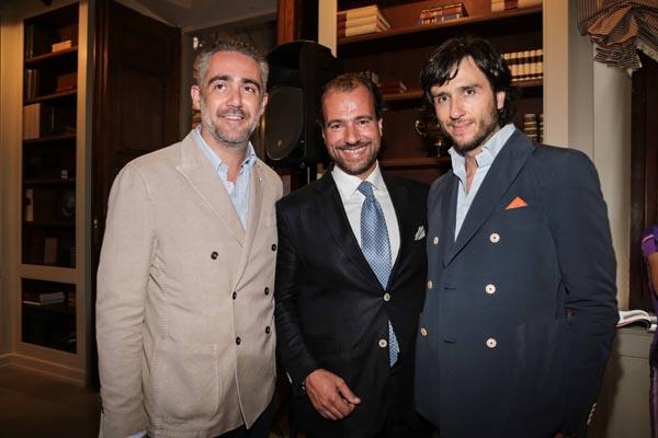 Matteo Parigi Bini e Alex Lana con Riccardo Maccolini