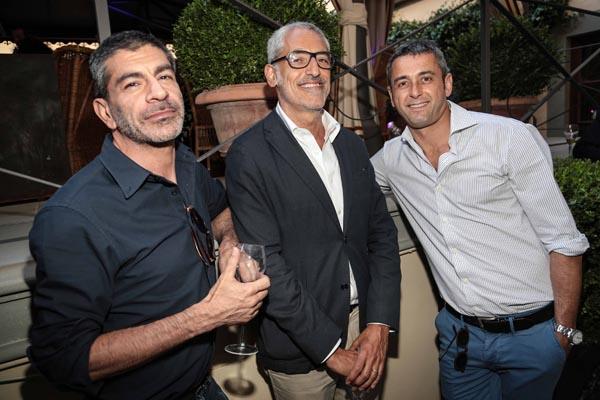 Animo Pagliaro, Franco Mariotti e Lorenzo Segre