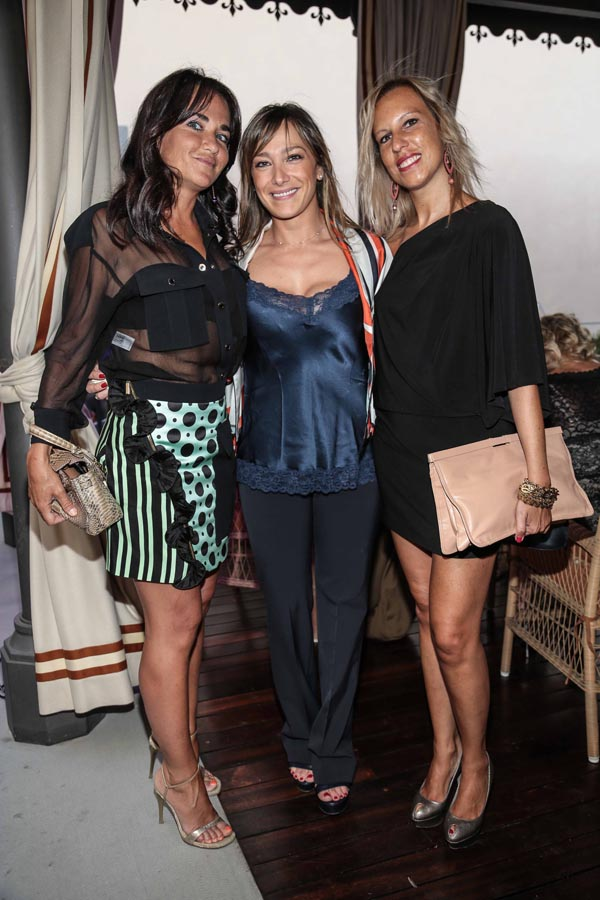 Angelica Bracchi, Anna Esposito e Francesca Zocchi