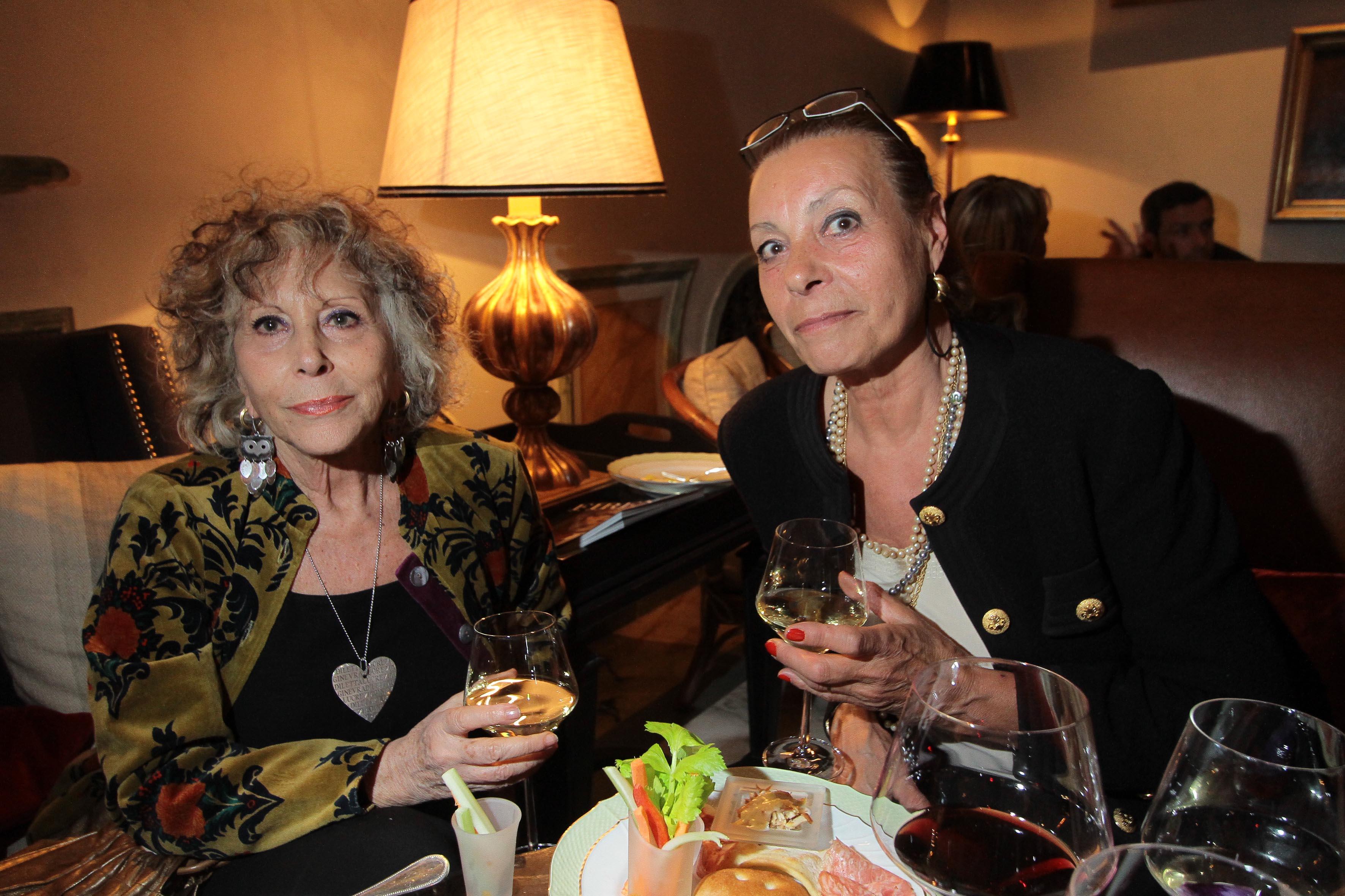 PRESSPHOTO Firenze, Hotel St Regis, serata Firenze Made in Tuscany. Nella foto Marianna Dieci e Mirella Fiorita Giuseppe Cabras/New Press Photo