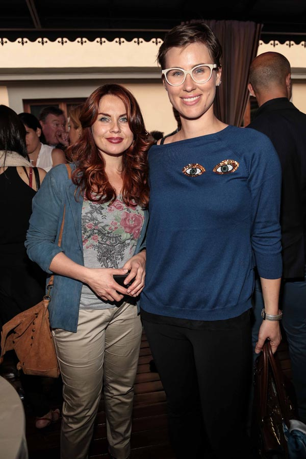 Joyce Pinto ed Elisa Parpagnoli