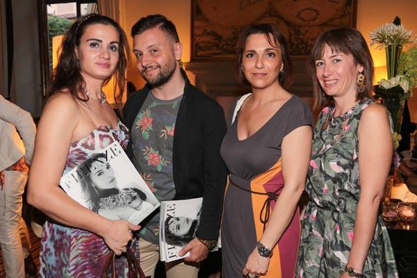 Brunilda Nelaj, Felice Prudentino, Silvia Baldinotti e Daria Colonna