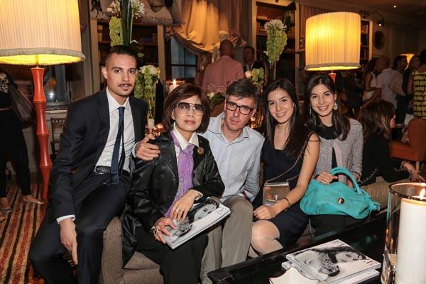 Guido Marcon, Irene ed Erica Arrighi, Teresa Chen e Marco Arrighi