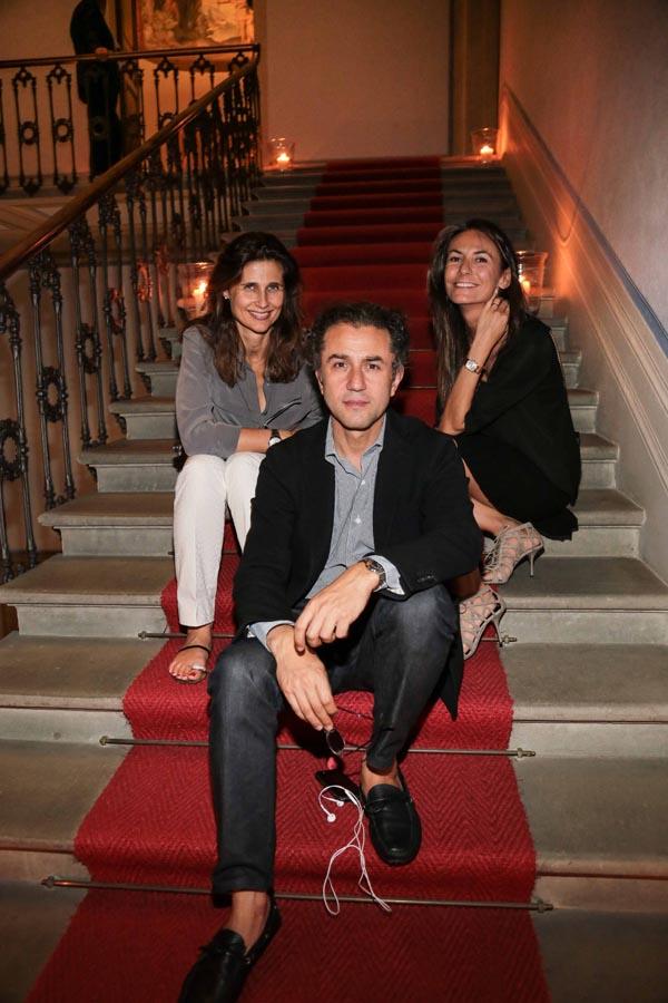 Felice Limosani, Doris Kovacs and Maryline De Cesare