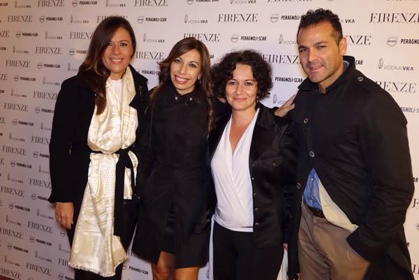 Cinzia Grazzini, Daniela Squillaro, Richi D'Angelo, Marco Mazzotta
